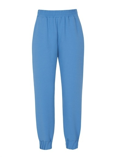 Nocturne Örme Jogging Pantolon Mavi